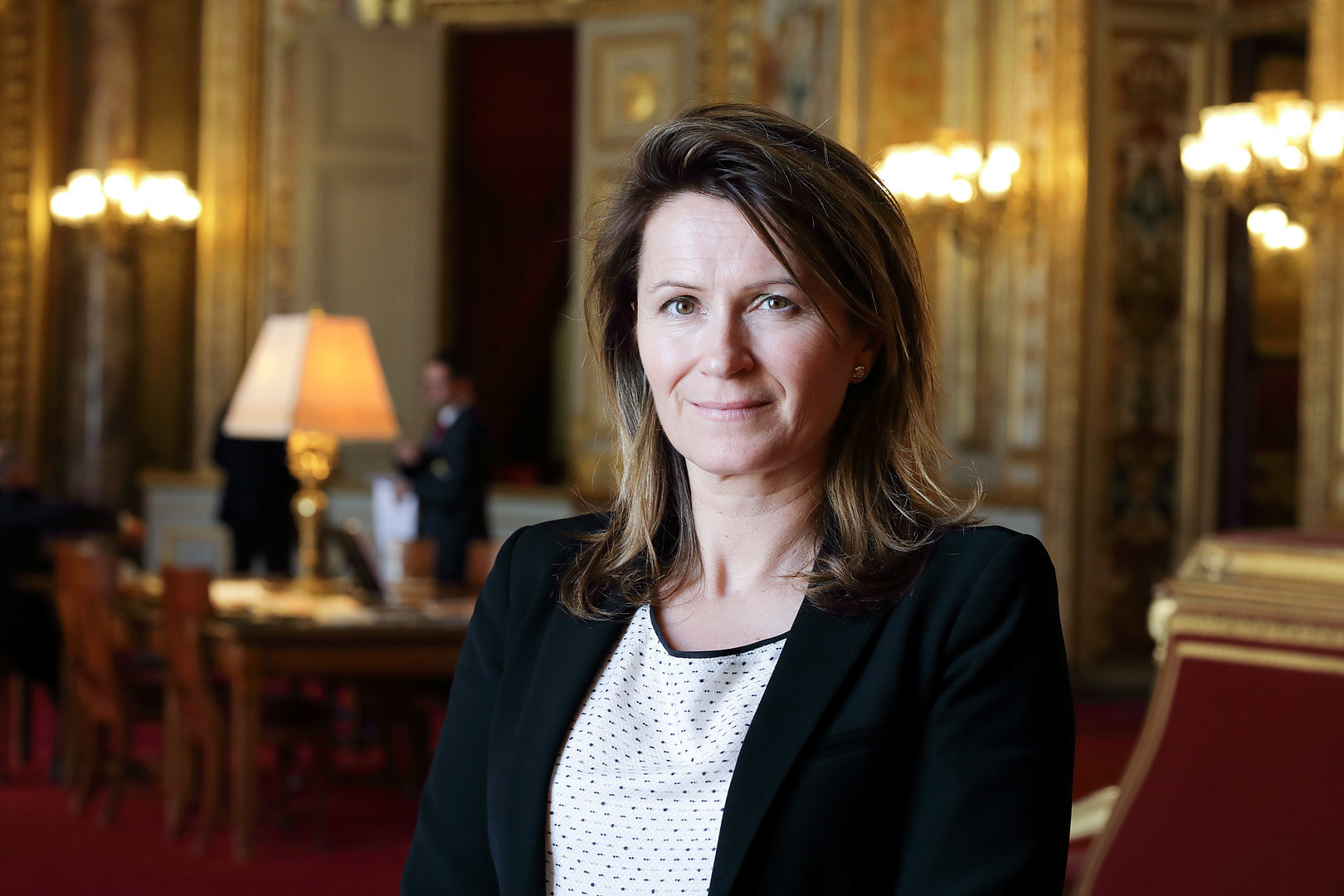 Anne-Catherine Loisier marraine de la promotion 2017-2018